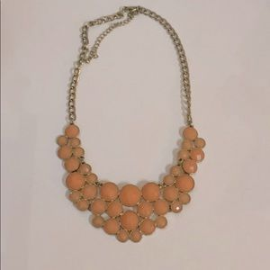 Gold and Pink Necklace